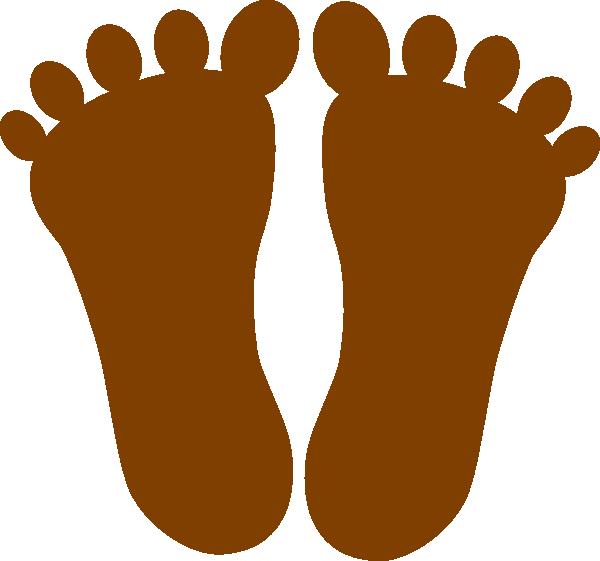 Footprints brown