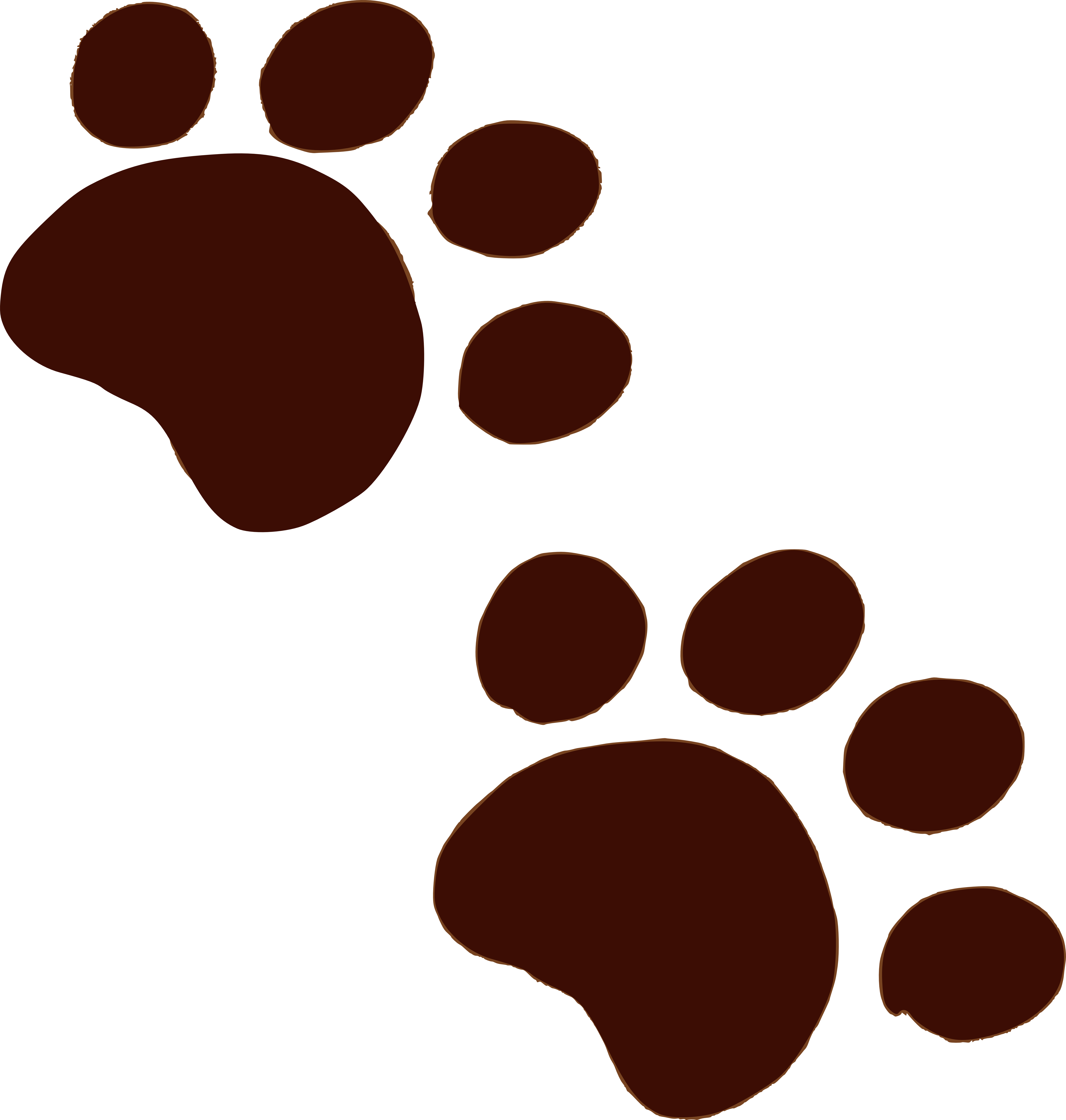 Paws clipart lovable. The muddy bunch paw
