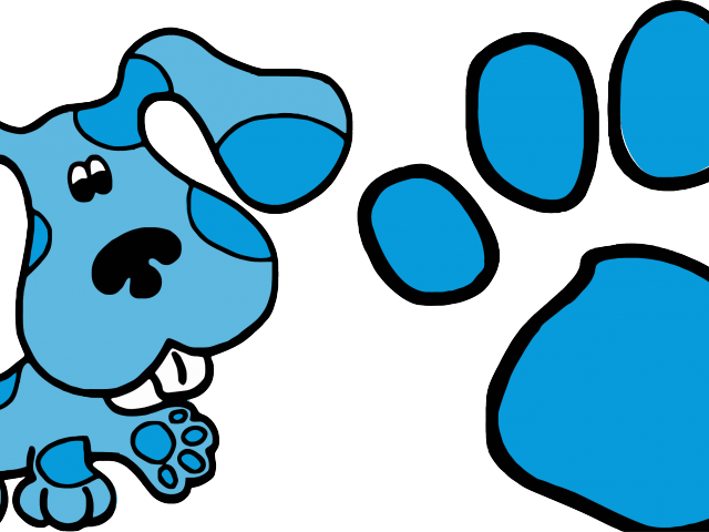 footprint clipart colored
