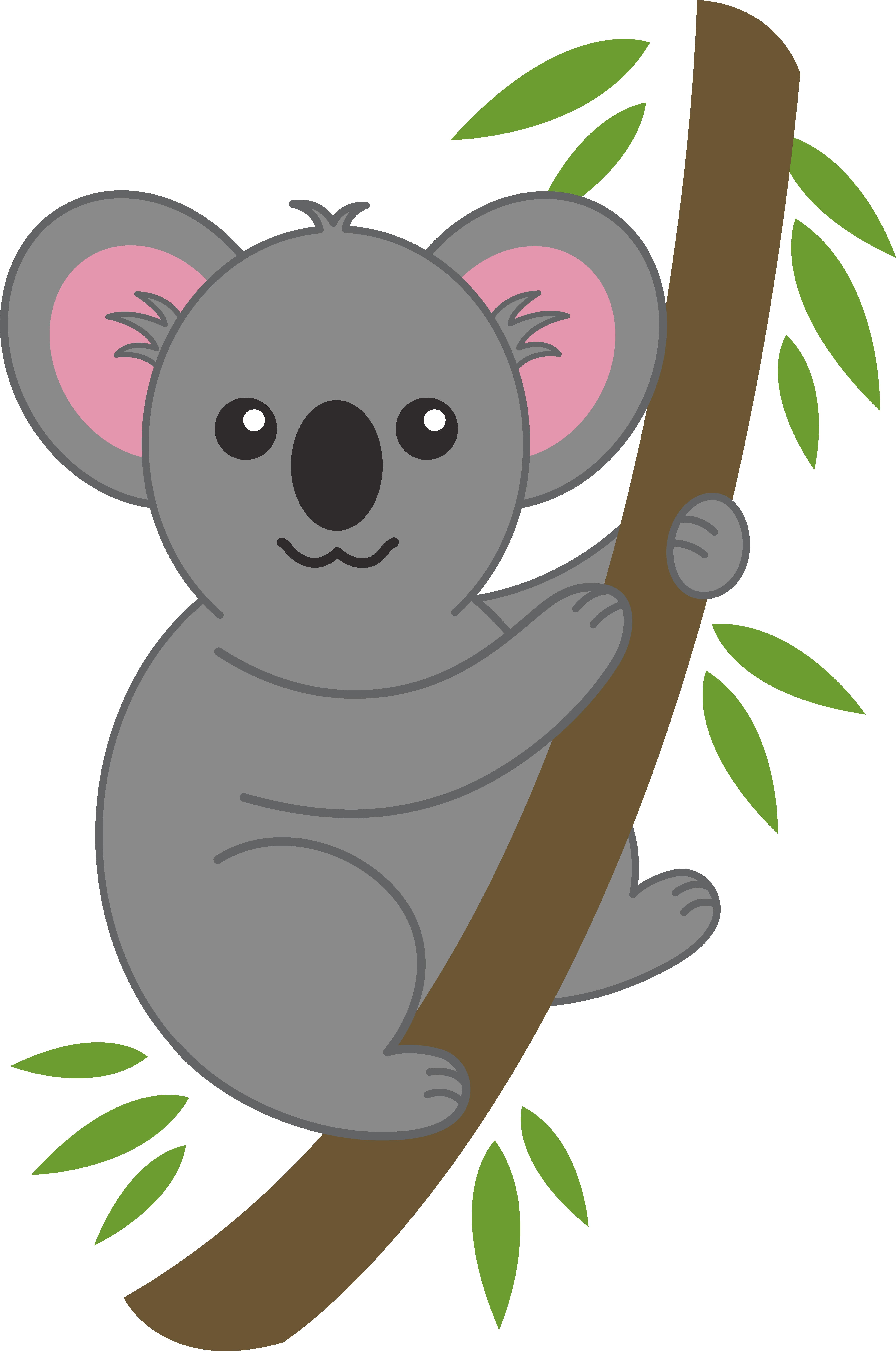 Koala simple best clipartioncom. Oreo clipart cartoon