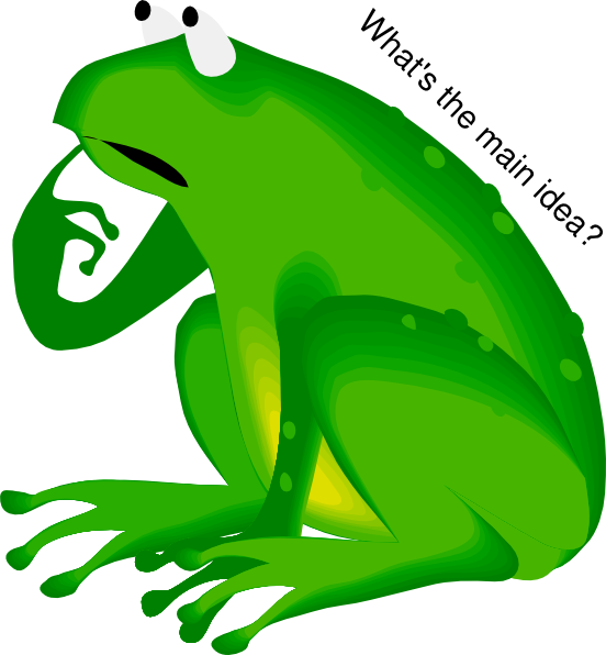 Footprint clipart frog. What s the idea