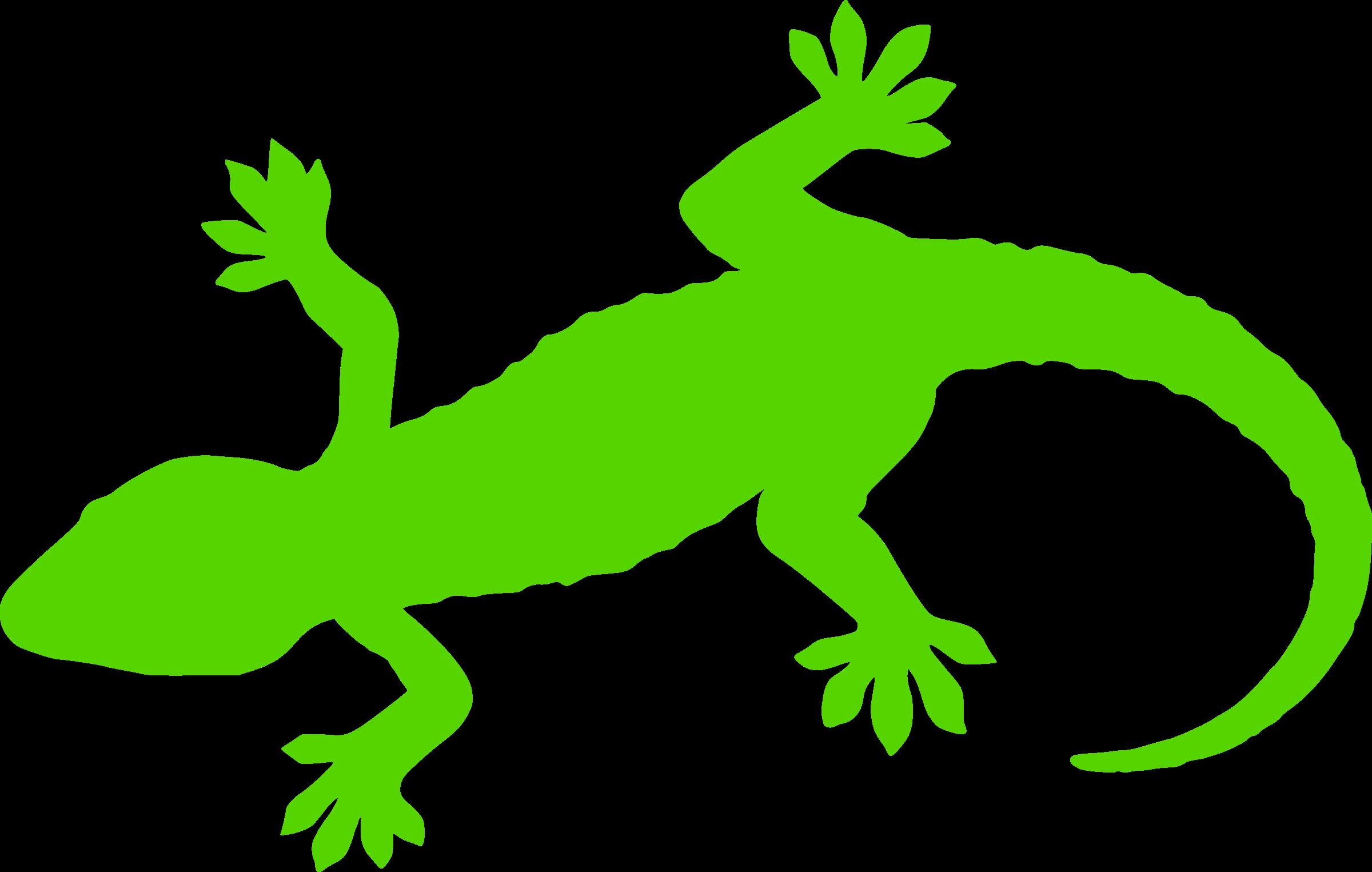 Footprint clipart gecko. Silhouette at getdrawings com