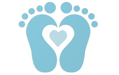 Footsteps clipart baby boy. Footprint clip art cliparts
