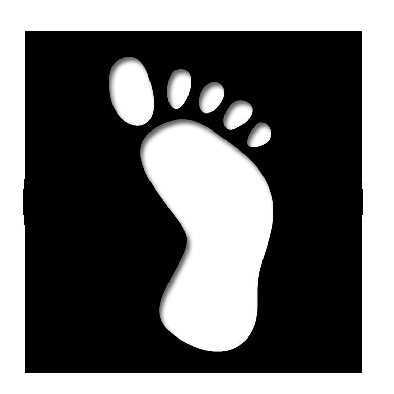 Footprint clipart journey. Footprints org nz