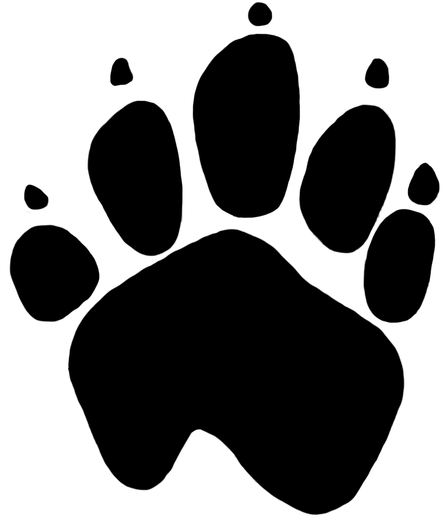 Footprint kangaroo pencil and. Horseshoe clipart tracks