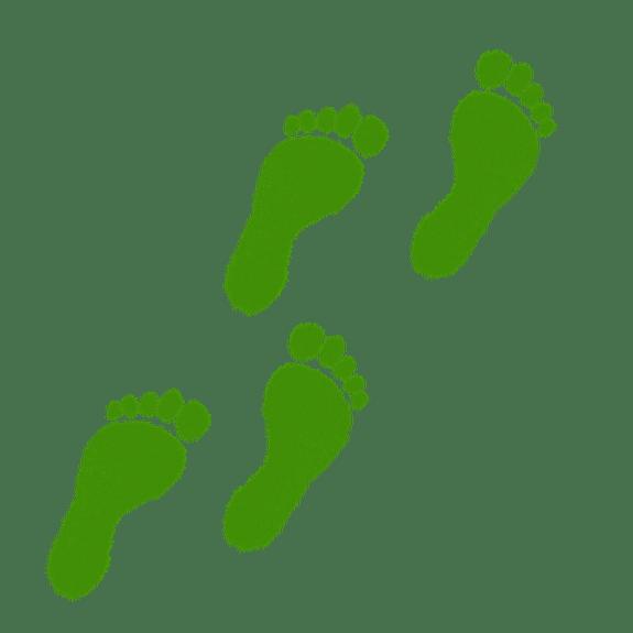 footprint clipart leprechaun