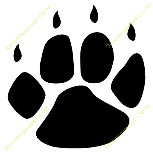 Footprint clipart panda. Footprints displaying gallery images