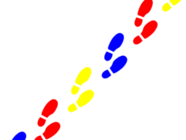 Picture of footprints free. Trail clipart footprint