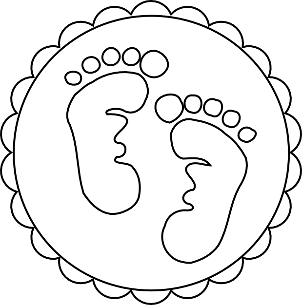 Footprints clipart footprint trail. Drawing at getdrawings com