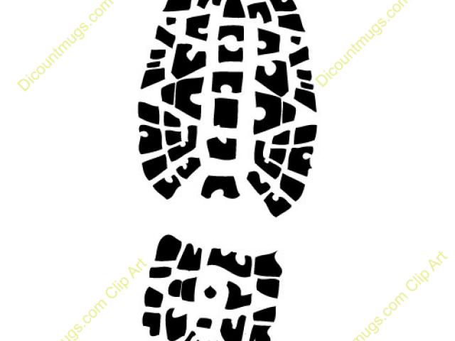 Free footprints raptor download. Footprint clipart tennis shoe