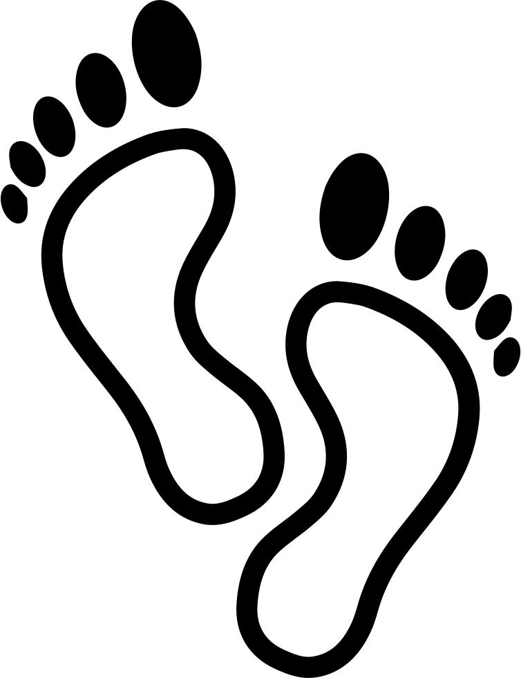 Footprint clipart vector. Dinosaur footprints drawing clip
