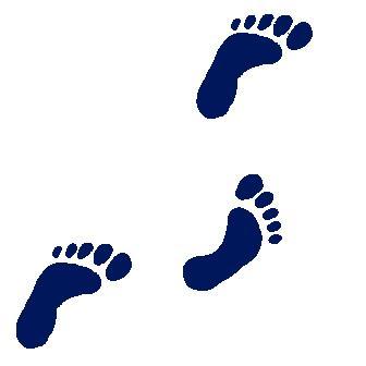 Footprint clipart walking. Free footprints cliparts download