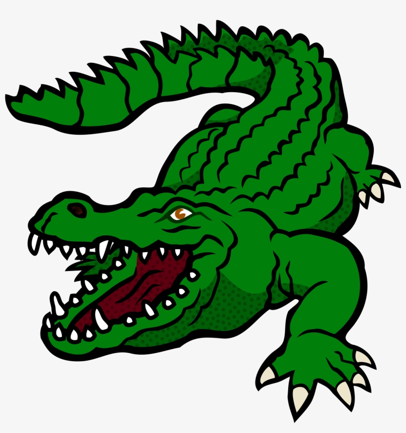 Footprints clipart alligator. Drawing banner library clip