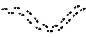 Footprints clipart footprint trail. Walking cliparts free download