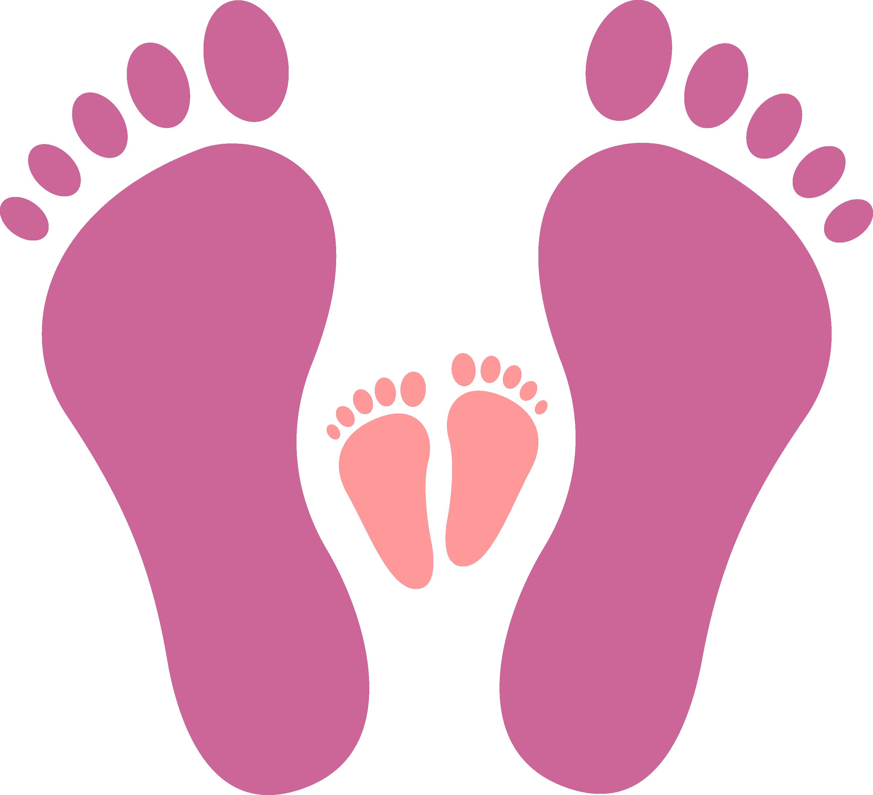 Download icon big and. Footprints clipart human footprint