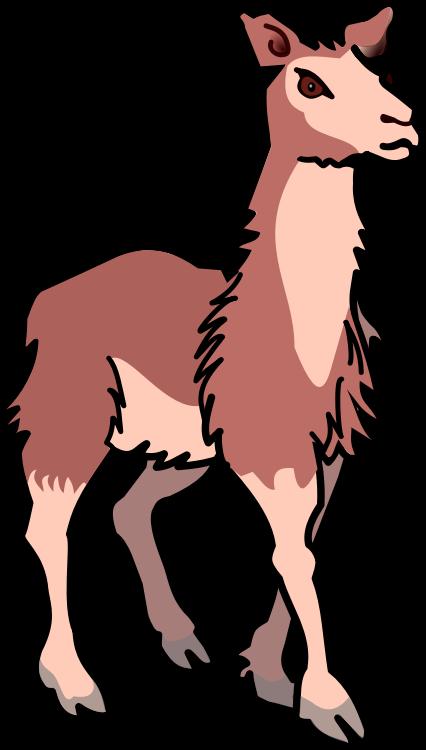 Free download clip art. Footprints clipart llama