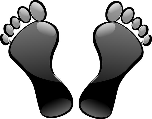 Footprints clipart transparent background. The best png images