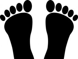 free vectors ui. Footprints clipart vector