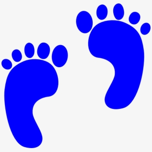 Free footprint cliparts silhouettes. Footsteps clipart cute