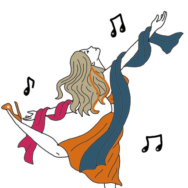 Hearing dream dictionary interpret. Footsteps clipart dancing