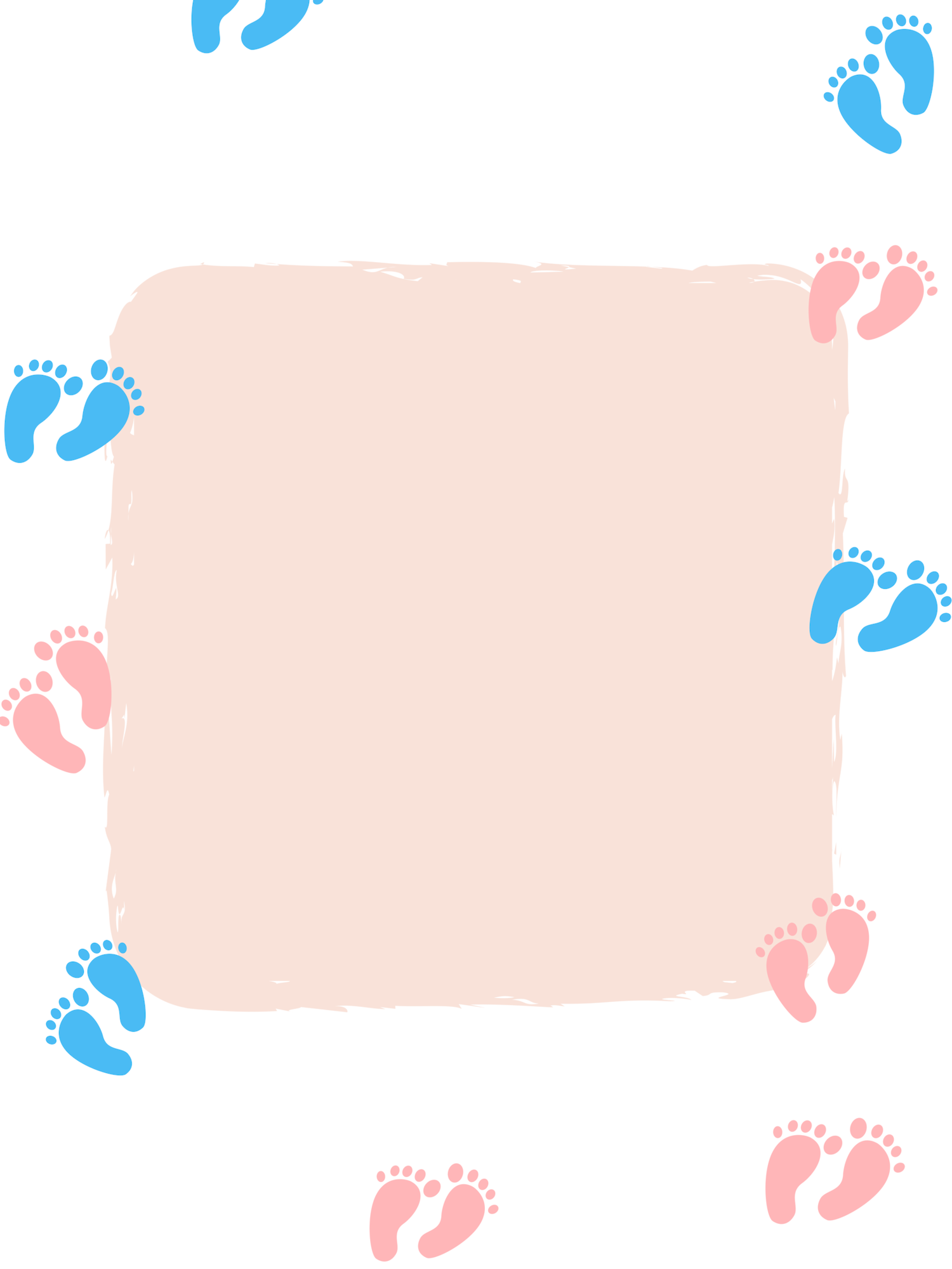 Footsteps clipart far away. Little daycare