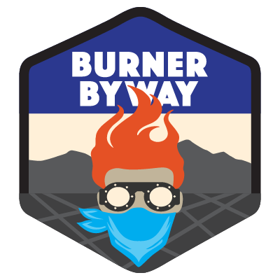 Burner byway reno to. Footsteps clipart far distance