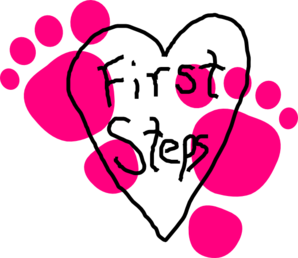Free cliparts download clip. Footsteps clipart first step