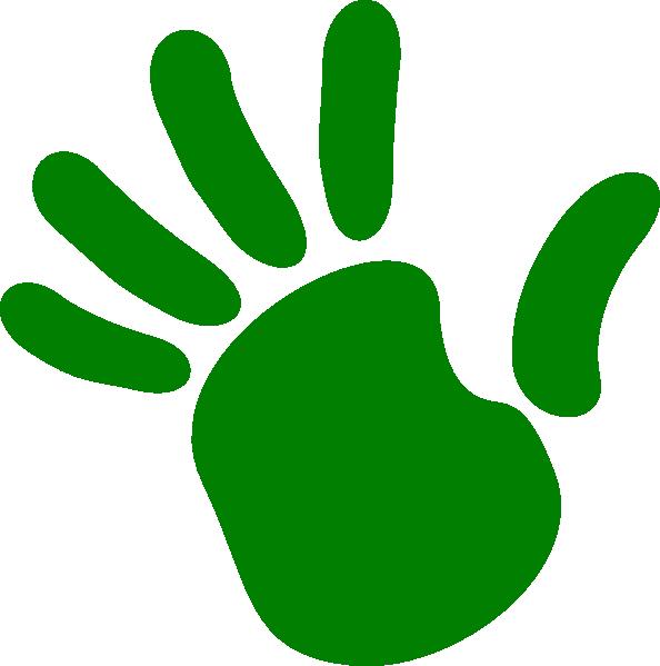 Footsteps clipart left footprint. Hand prints free download