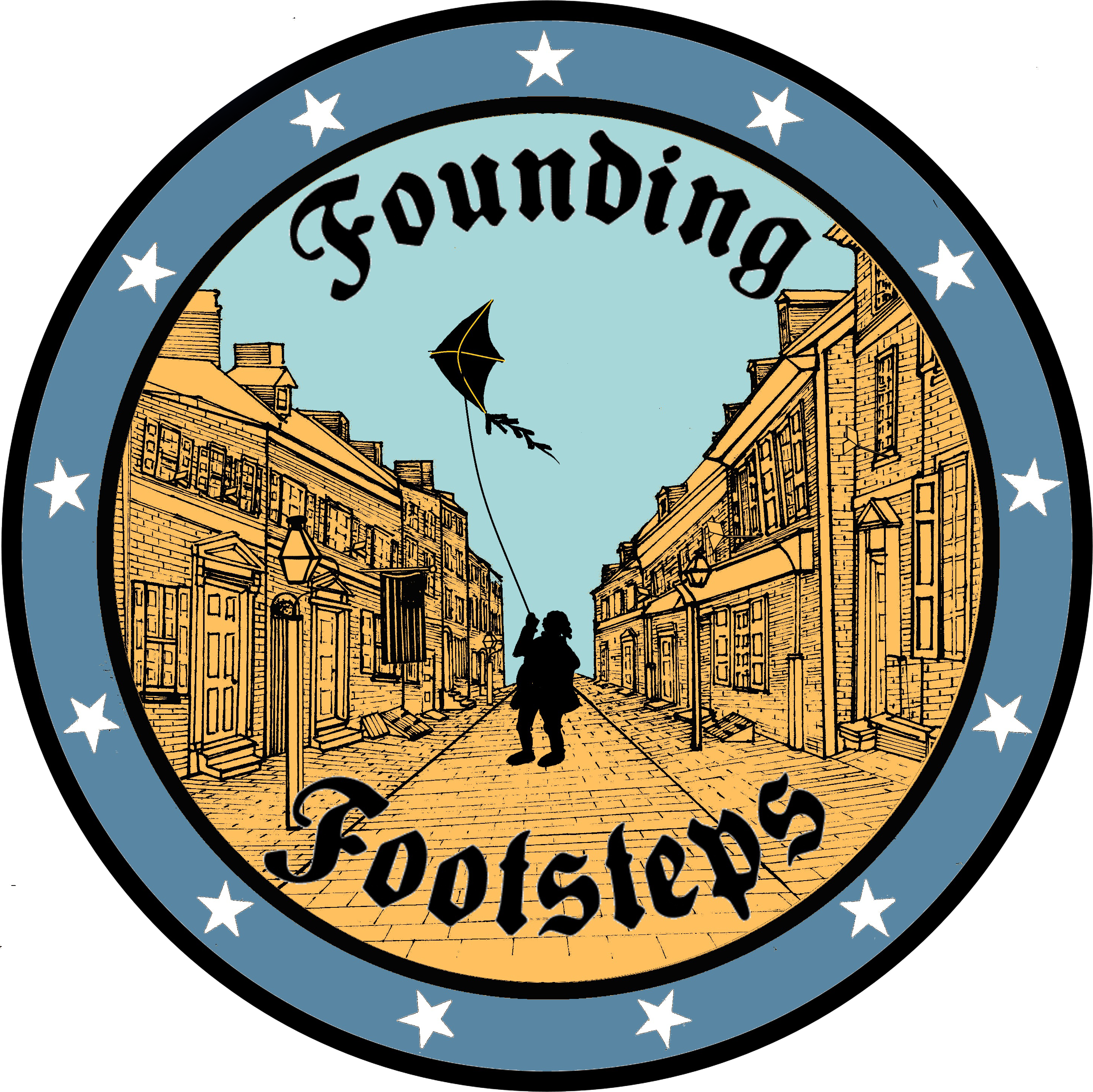 Footsteps clipart one step at time. Founding unique trolley tours