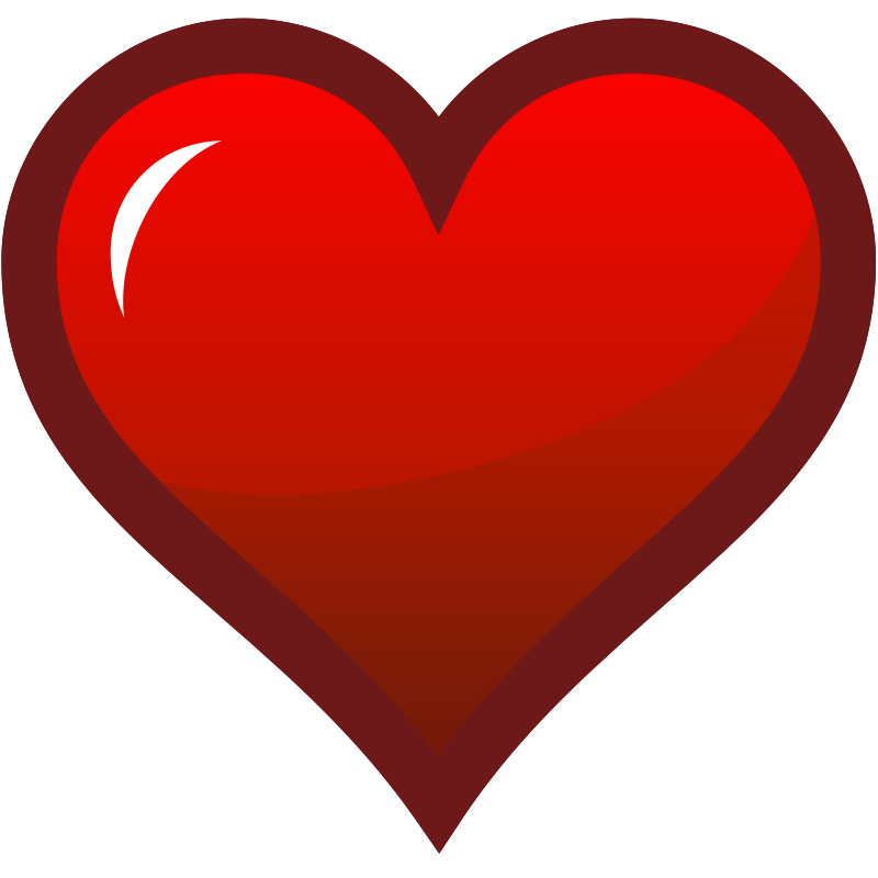 Footsteps clipart red. Pictures of a heart