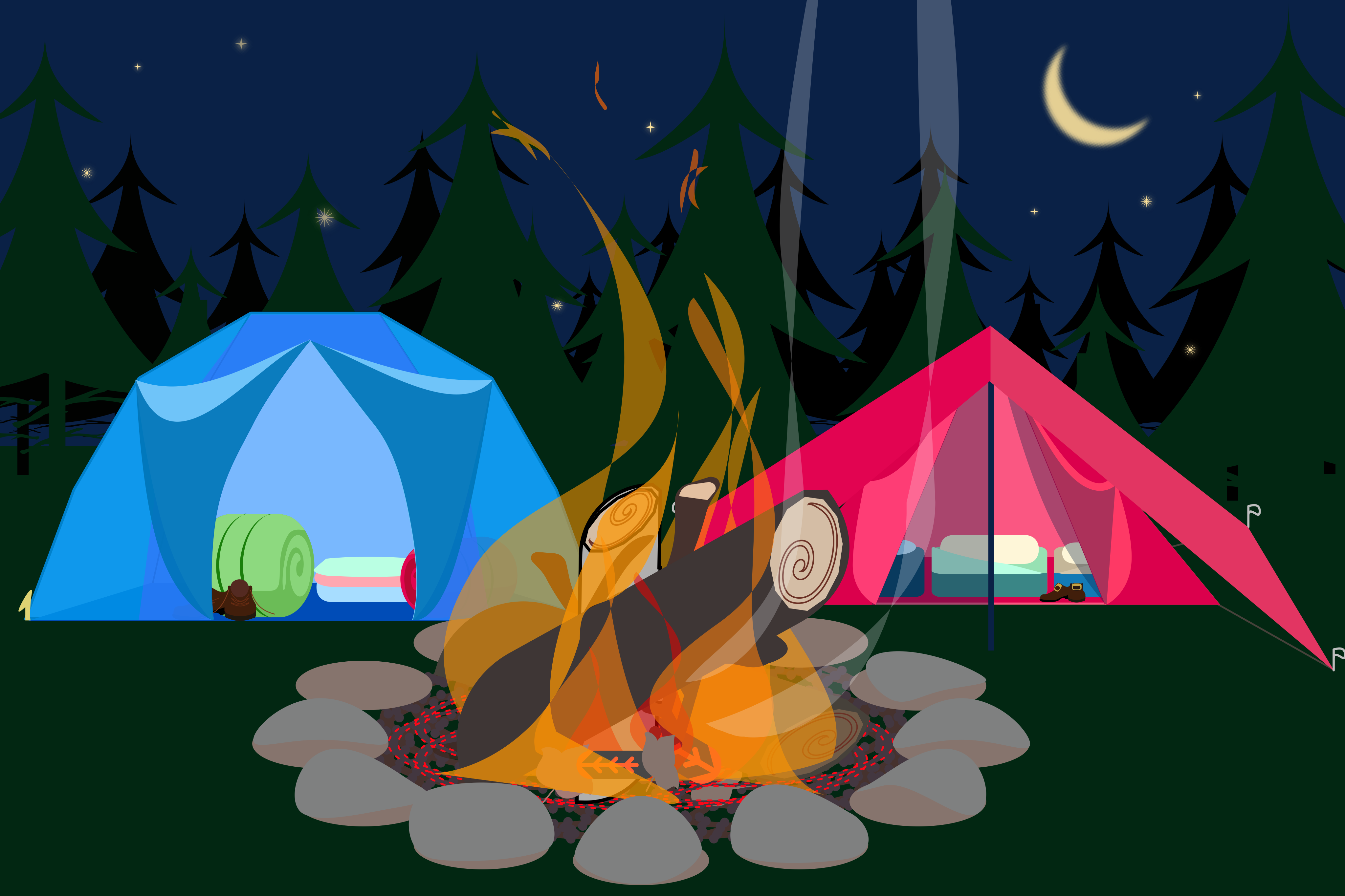 . Forest Campsite