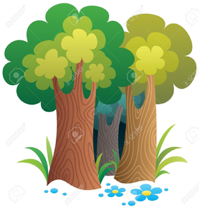 Cartoon free images at. Forest clipart