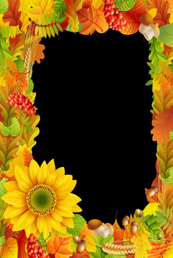 shared ovi jesen. Frame clipart forest