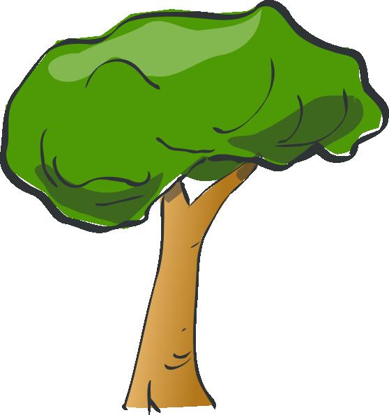 Clip art at clker. Tree clipart rainforest