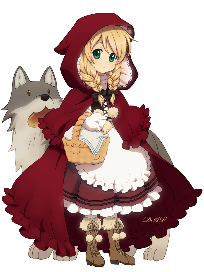 Wolf clipart red riding hood. Little group by dav