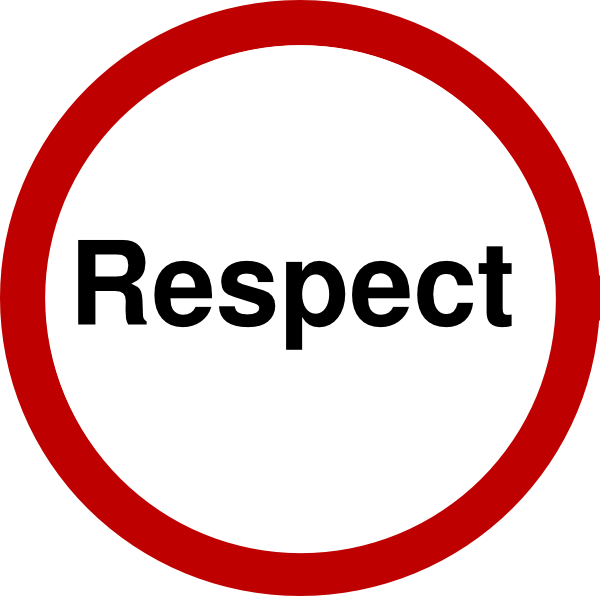 Respect clipart workshop. Dignity panda free images