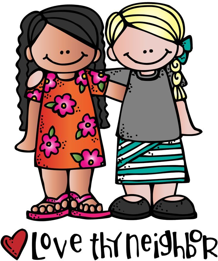 Free loving others cliparts. Neighbors clipart love