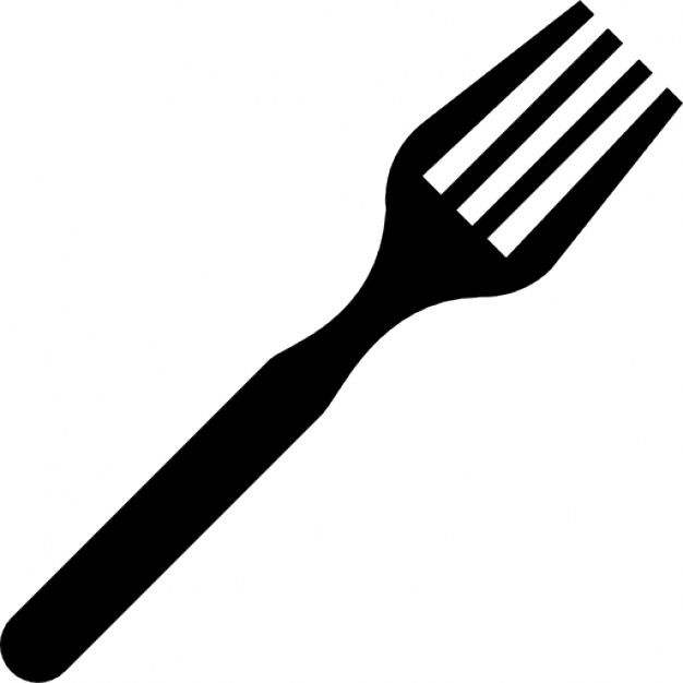 The top best blogs. Fork clipart