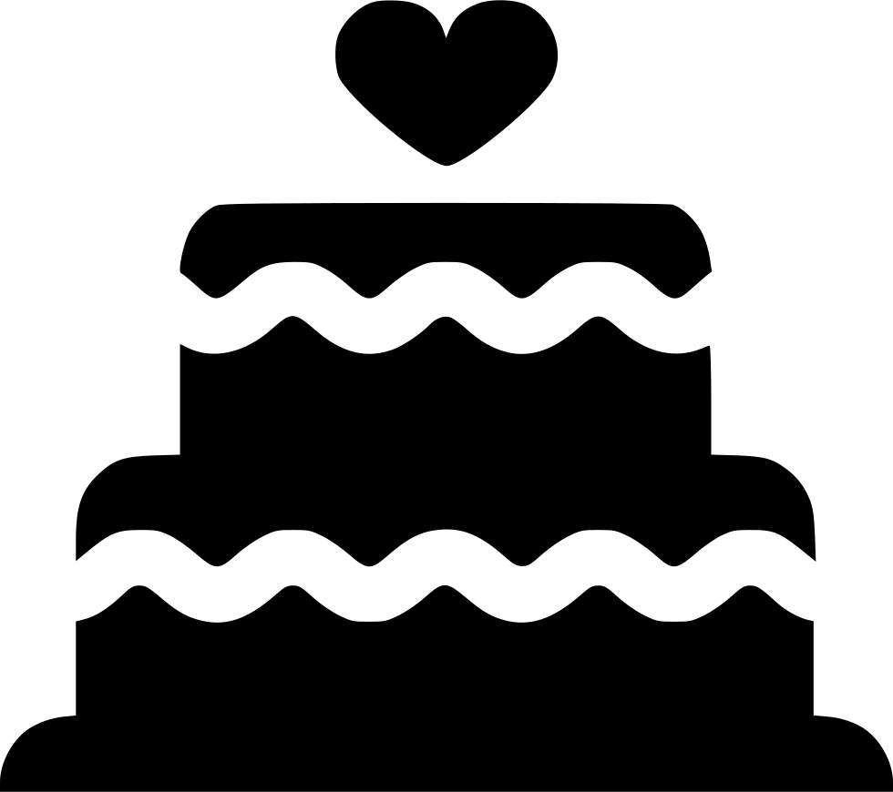 Fractions clipart cake. Wedding svg png icon