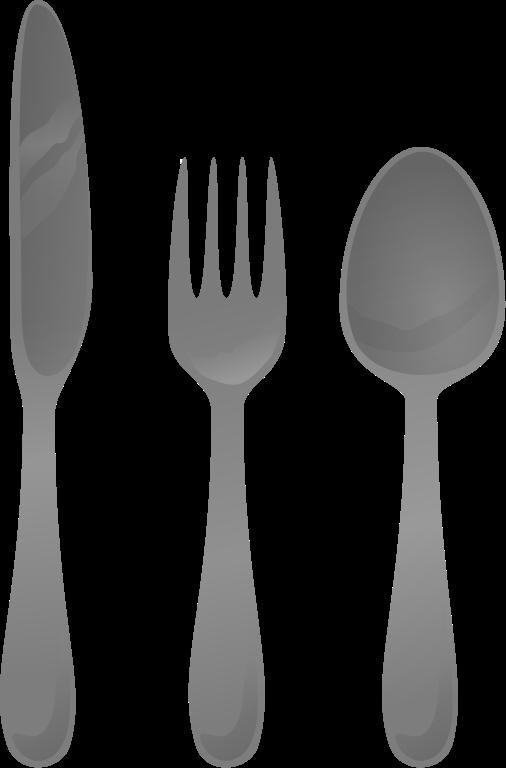 File cutlery svg wikimedia. Fork clipart cartoon