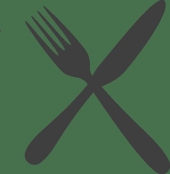 And knife clip art. Fork clipart crossed fork
