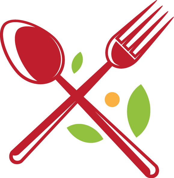 Fork clipart red spoon, Fork red spoon Transparent FREE ...