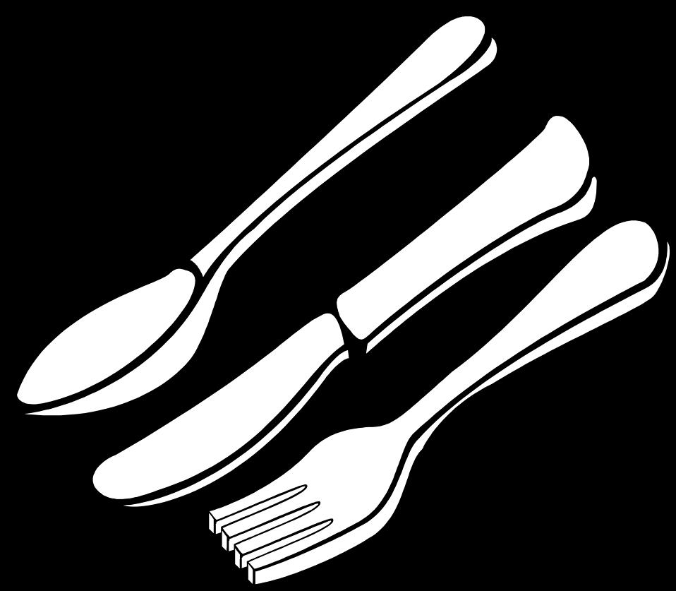 Knife clipart illustration. Silverware free stock photo