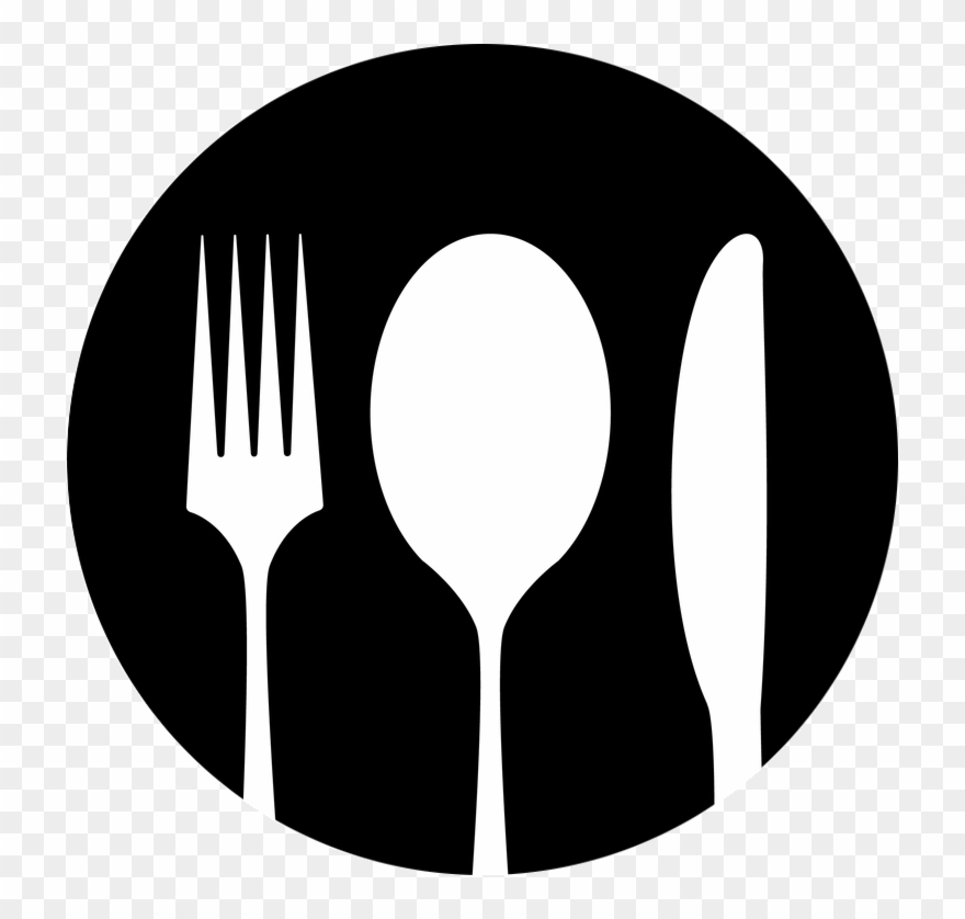 And crossed png . Fork clipart spoon fork logo