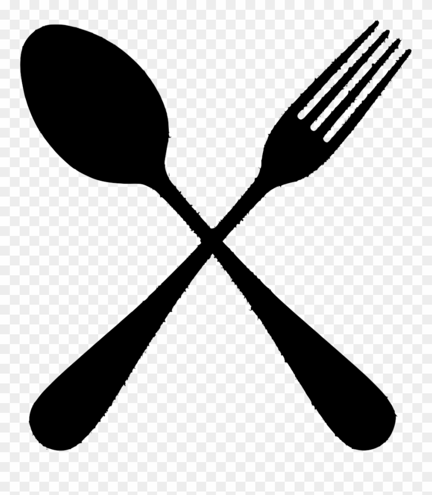 The gallery for spoon. Fork clipart sppon