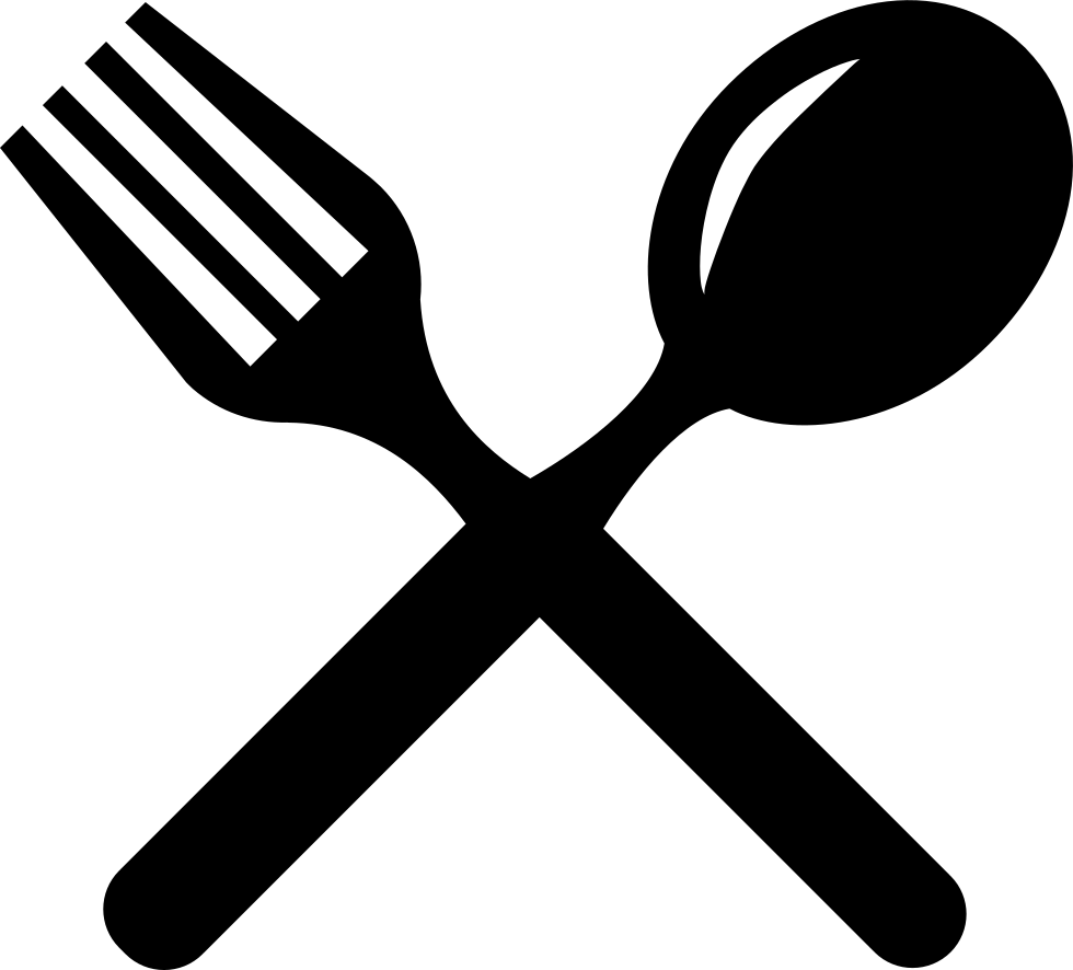 Fork clipart sppon. Cutlery cross couple of