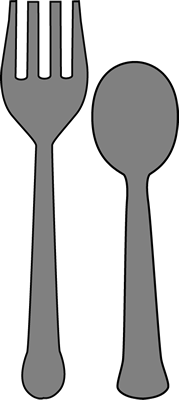 Free spoon cliparts download. Fork clipart sppon