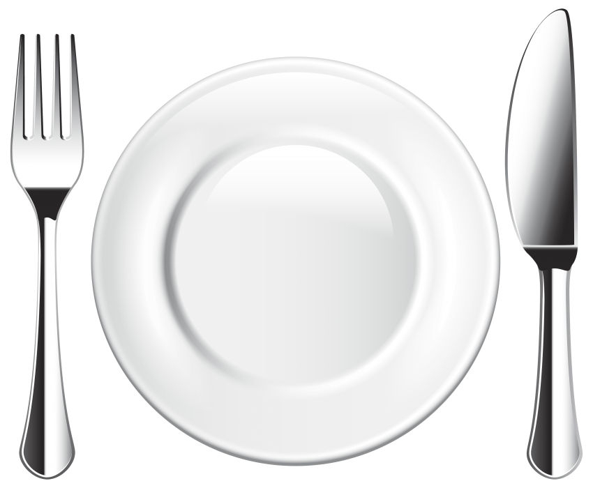 Napkin clipart plate napkin. Knife and fork png