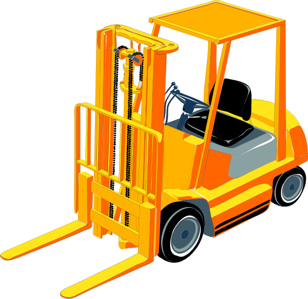 Panda free images forkliftclipart. Forklift clipart