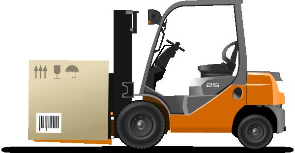 Clip art at clker. Forklift clipart